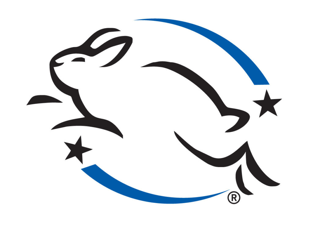 Leaping Bunny cruelty free certification logo