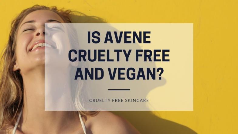 Is Avene cruelty free and vegan featured image